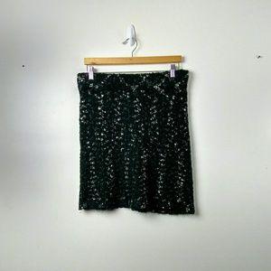 Kenar blue/green/white skirt